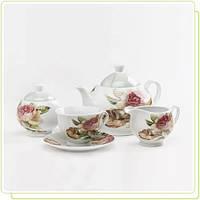 """Чайный набор Maestro 17 предметов """"розы"""""""