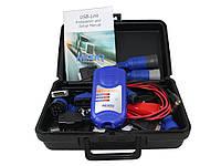Автосканер Nexiq USB-LINK KIT (EU) для диагностики грузовых автомобилей, спецтехники с поддержкой протокола RP