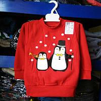 Детский,свитер джемпер пингвинчики