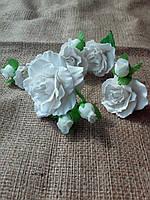 Свадебные шпильки, свадебные цветы для прически