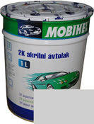 Автокраска Mobihel акрил 1л  Белая Газ.