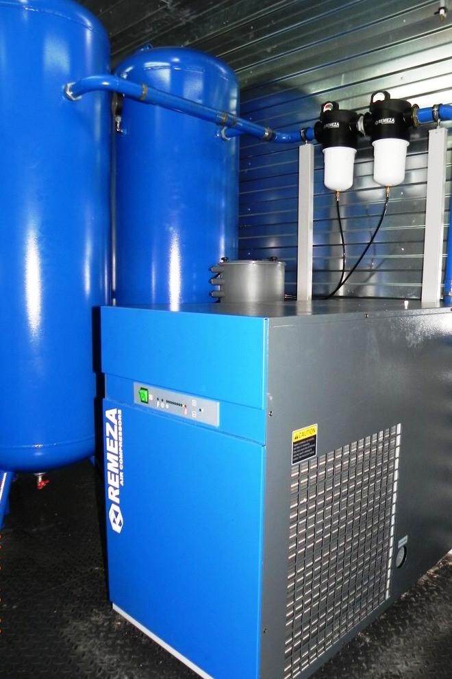 Модульная компрессорная станция МКР