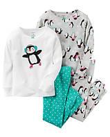 Carters Пижама для девочки, набор из 2 штук, на 2 года