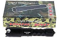 Электрошокер Police BL 1201, новая модель, мощный, фонарь-шокер, съемный аккумулятор, товары для самообороны