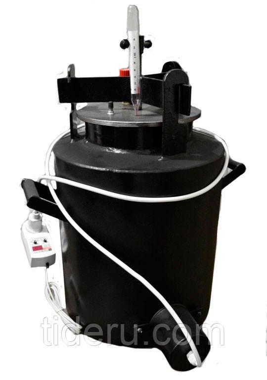 Автоклав электрический (20шт по 0,5л или 12шт по 1,0л ) с цифровым терморегулятором