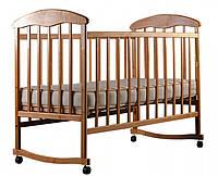 Кроватка Наталка Ольха (светлая, темная)