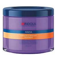 """Маска для выравнивания волос """"Indola"""" Keratin Straight Treatment (200ml)"""