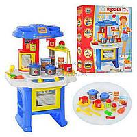 Игровая детская кухня 08912 со звуком и светом