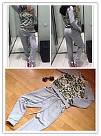 Модный женский спортивный костюм у-5105267