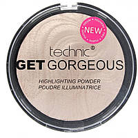 Пудра-хайлайтер Technic Get Gorgeous Highlighting Powder 12g, фото 1