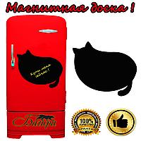 "Магнитная доска на холодильник ""Покорми кота"" (30х32см), фото 1"