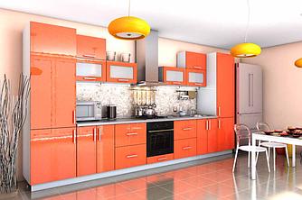 """Кухня """"Гламур 4"""" 330 см"""