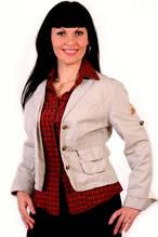 Жакет женский двойка коттон  джинс рубашка жк 008-1.