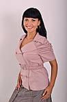 Жакет женский ,льняной, большие размеры,(ЖК 010), фото 3