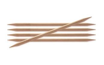 Спицы носочные деревянные 2.5 мм - 20 см Basix Birch Wood_KnitPro