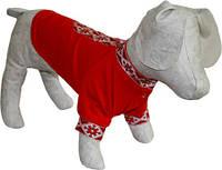 Рубашка - вышиванка для собаки