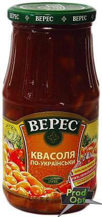 """Квасоля """"По-українськи"""" Верес 550 г , фото 2"""