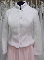 Свадебная шубка (Ш-И-01-бел) ЦВЕТ: белый