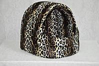 Будка для котов и собак велюр  Леопард
