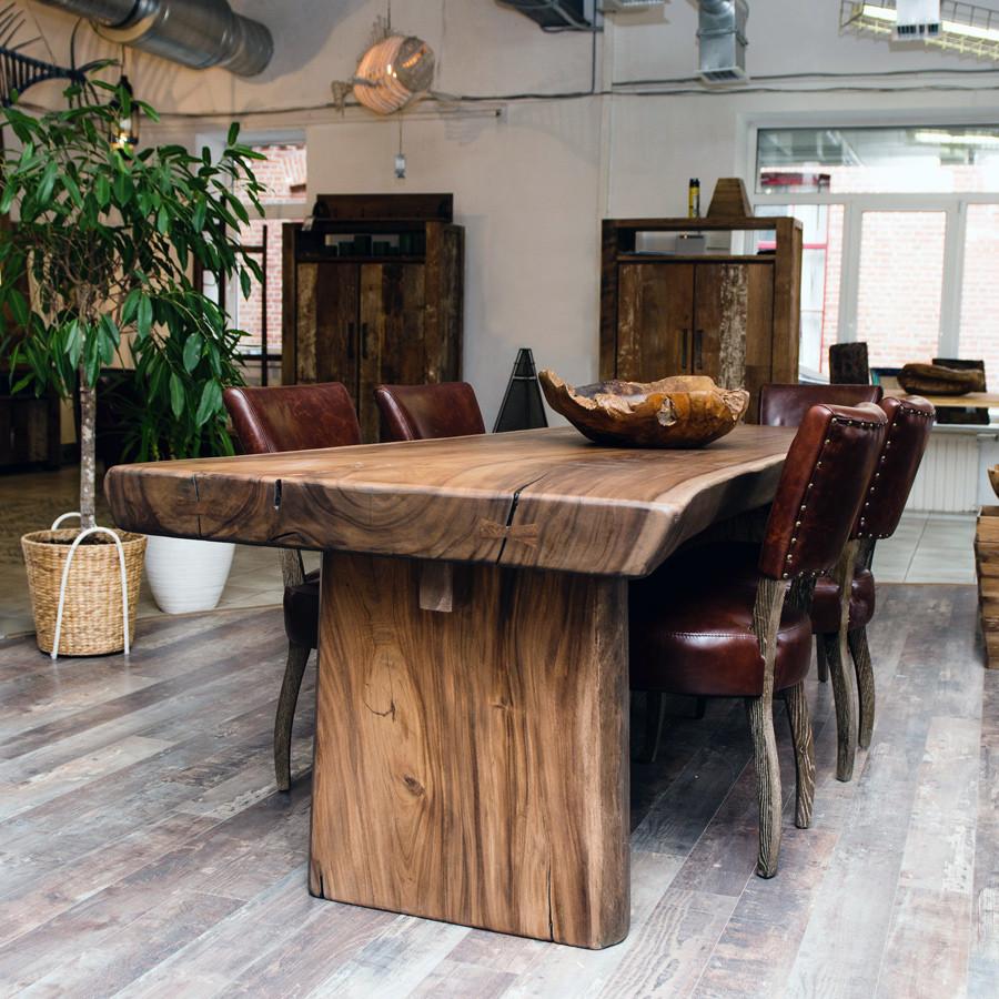 деревянные столы для гостиной из массива дуба