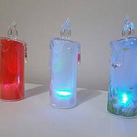 Свечи новогодние светодиод пластик