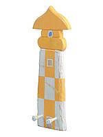 Вішалка Маяк (150*400) жовто білий