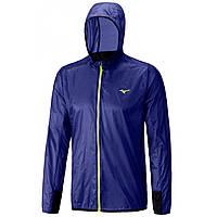 Мужская беговая ветрозащитная куртка Mizuno L'Weight Hood Jacket J2GC6003-21