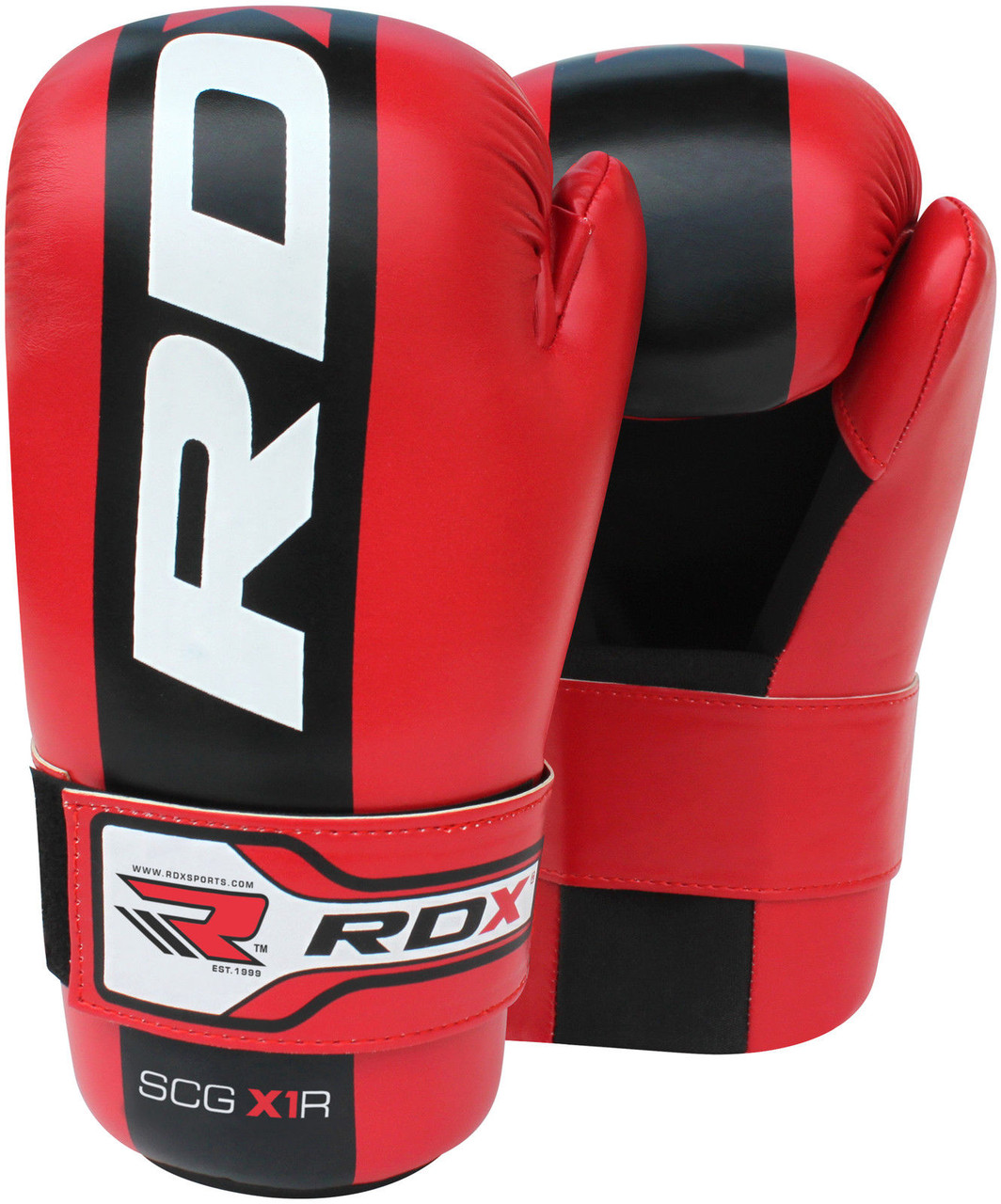 Перчатки RDX SCG-X1 Red Semi Contact  L