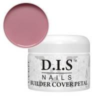 Гель камуфлирующий DIS Builder Cover Petal (средней вязкости,бежево-розовый) 30 г.