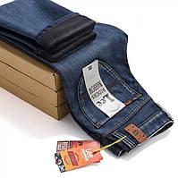 Утепленные джинсы LEE. Мужские джинсы. Стильный дизайн. Высокое качество. Интернет магазин. Код: КДН988