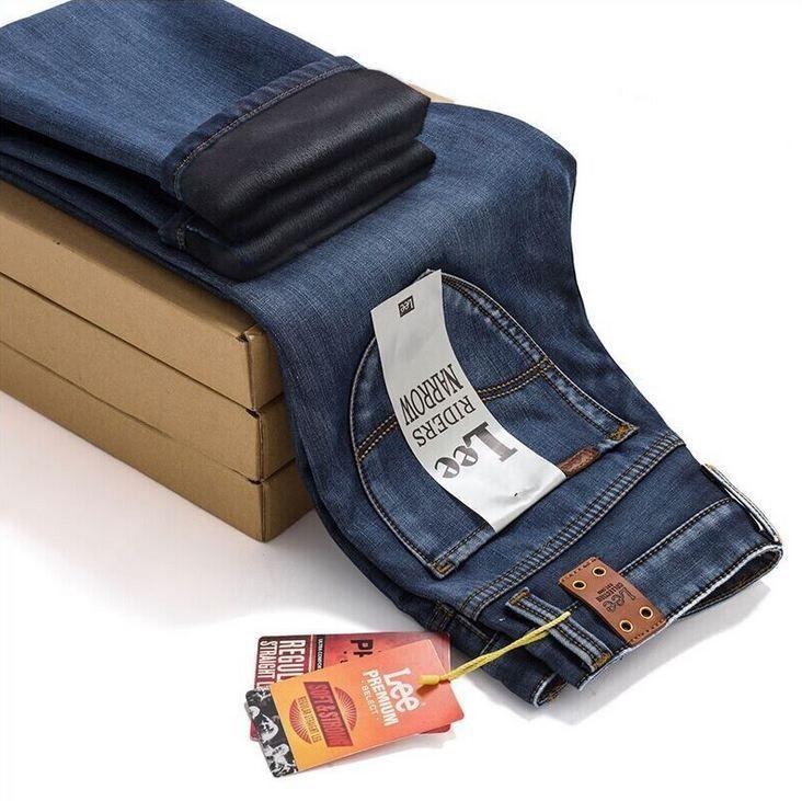 Купить утепленные джинсы мужские