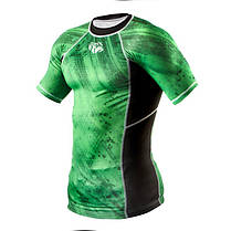 Рашгард Peresvit Immortal Silver Force Rashguard Short Sleeve Green Lantern, фото 2