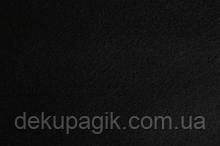 Фетр для рукоделия 1,4мм 20х30см, чёрный