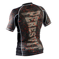 Рашгард Peresvit Immortal Silver Force Rashguard Short Sleeve Lava, фото 2