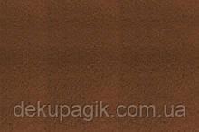 Фетр для рукоделия 1,4мм 30х45см, коричневый
