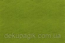 Фетр для рукоделия 1,4мм 30х45см, оливковый