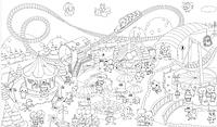 Обои-раскраски детские Мир чудес 60х100см