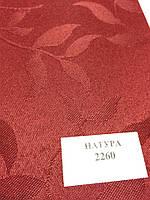 Рулонная штора Натура красная