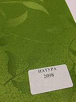 Рулонная штора Натура зеленый
