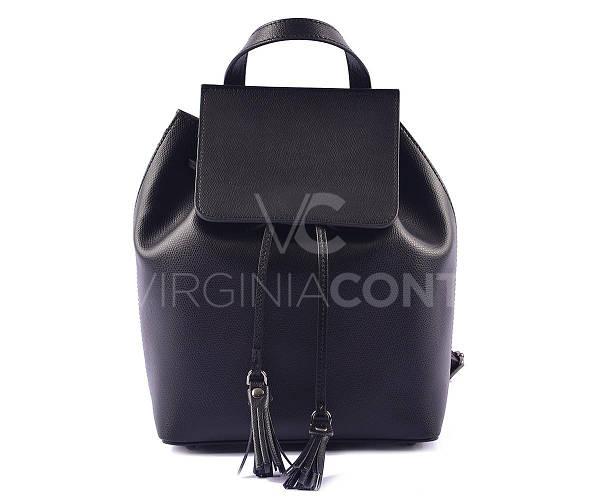 Стильный черный рюкзак Virginia Conti