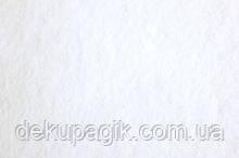 Фетр клеевой 1,4мм 20х30см, белый