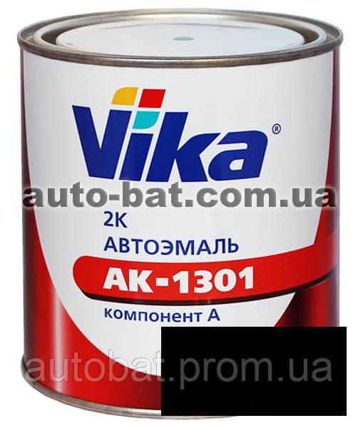 000 Автоэмаль двухкомпонентная акриловая автокраска Vika 000 Черный мат 0,4кг    - Auto-Bat - лакокрасочные материалы в Житомире