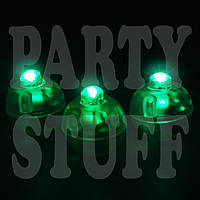 Светодиоды для шариков круглые Зеленые, одноцветные