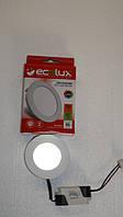 Светильник LED панель 3w ECOLUX круглый встраеваемый