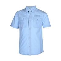 Рубашка для мальчика подростка 161-30B-19-431 к/р голубая