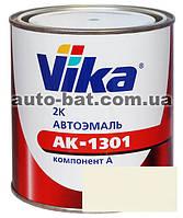 201 Автоэмаль двухкомпонентная акриловая автокраска Vika 201 Белая 0,85кг