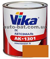 208 Автоэмаль двухкомпонентная акриловая автокраска Vika 208 Охра золотистая 0,85кг
