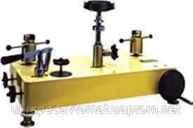 Манометр грузопоршневой переносной МПП-60М классом точности 0,05, фото 2