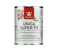 Лак алкид-уретановый TIKKURILA UNICA SUPER 90 яхтовый, глянцевый, 0,9л
