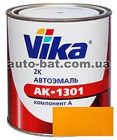 286 Автоэмаль двухкомпонентная акриловая автокраска Vika 286 Золотисто-желтая 0,85кг